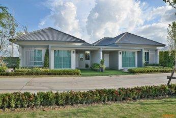 ขาย บ้านแฝด/ทาวน์โฮม โครงการ บ้านสวย พลัส บ้านโพธิ์ ใกล้สถานีรถไฟ คลองสีนนท์