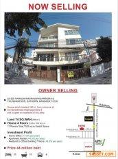 ขายบ้านเดี่ยว 4 ชั้น ซอย นราธิวาสราชนครินทร์ 8 ยอมขายขาดทุน 10 ล้าน