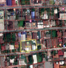 ขายที่ดินเปล่าในซอยลาดพร้าว64 แยก8  ถมแล้ว 341 ตารางวา หน้ากว้าง 46x28 m