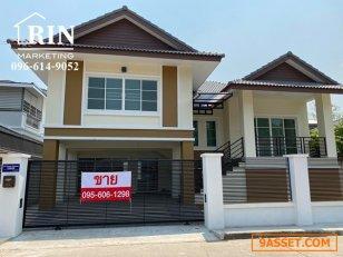ขาย บ้านเดี่ยว2ชั้น หางดง ราคาถูก บรรยากาศดี วิวภูเขา 096-614-9052