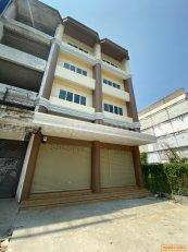 ให้เช่า อาคารพาณิชย์ 4.5 ชั้น 2 คูหา ติด MRT บางพลู