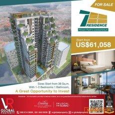 For Sale The Seven Residence Condominium, Phnom Penh