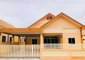 ขายบ้านกิรณา นิคมพัฒนาซอย 8  กว้างใหญ่ดีไซน์สวย  ใช้วัสดุเกรด A ทุกอย่าง นิคมพัฒนา ระยอง