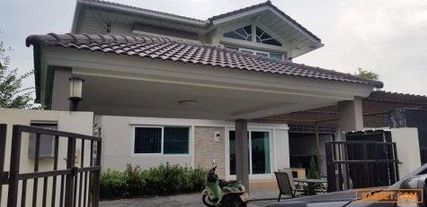 ขายบ้านเดี่ยว ศุภาลัย ไพรด์ บางนา – วงแหวน แบบบ้านศุภวัฒนา เนื้อที่ 81.70 ตารางวา 4 ห้องนอน 3 ห้องน้ำ บ้านหันหน้าทิศเหนือ พื้นที่ใหญ่ที่สุดในหมู่บ้าน