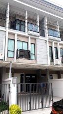 ให้เช่า ทาวน์โฮม 3 ชั้น 18 ตารางวา หมู่บ้านไทม์โฮม 2 สวนหลวง-อ่อนนุช กรุงเทพฯ