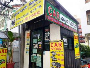 เซ้ง!! ร้านรถเช่าพัทยา เปิดมานานกว่า 6 ปี @ซอยบัวขาว พัทยา-ชลบุรี