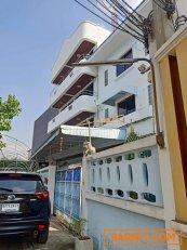 RK026ให้เช่าอาคาร 2 คูหา พร้อมโกดัง พื้นที่ใช้สอยรวม 1000 ตรม ซอยมัยลาภ รามอินทรา14