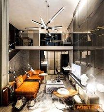 ขายดาวน์ คอนโด ไนท์บริดจ์ ไพร์ม สาทร Knightsbridge Prime Sathorn ชั้น36  ห้อง Duplex  44 ตรม. ชั้นล่าง30.5ตรม.  ชั้นบน13.5ตรม. เพดานสูง4.4 เมตร พร้อมระเบียง 1 ห้องนอน, 1 ห้องน้ำ, 1 ห้องเอนกประสงค์ คอนโดระดับ High – Luxury Class แถมเฟอร์นิเจอร์และเครื่องใช