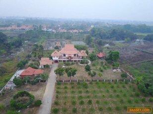 ขายบ้านทรงไทยร่วมสมัย-จ.พิจิตร-พร้อมที่ดิน-10.3.33-ไร่-ขายราคาต่ำกว่�