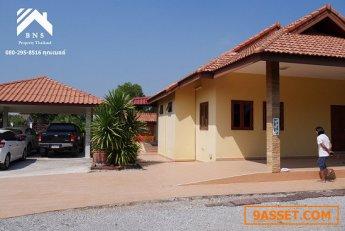 ขายบ้าน Pool Villa 400 ตารางวา (บ้านหนองแขม อ.หัวหิน)
