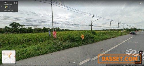 ขายที่ดินคิดถนนสุวินทวงศ์ใกล้สถานีตำรวจสุวินทวงศ์