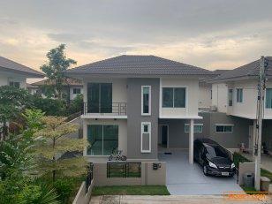 ขายบ้านแฝด 2 ชั้น หลังริม หลังริม เดอะทรัสต์ วิลล์ กาญจนาภิเษก – หทัยราษฎร์ โทร 0871515987