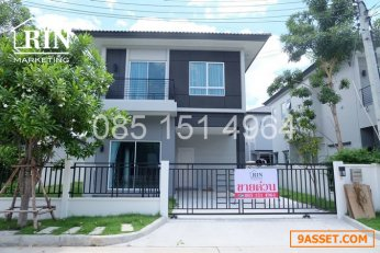 R071- 152 ขาย บ้านเดี่ยว ราคาถูก หมู่บ้าน เดอะ เซนโทร วัชรพล - สุขาภิบาล 5 ขนาด 50.1 ตร.ว