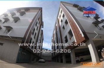 ขายอพาร์ทเม้นท์ 5 ชั้น 643.2 ตร.ว. ใกล้ไทวัสดุบางพลี ซอยไทยประกันแมน2 ถนนเทพารักษ์