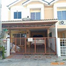 ขายบ้านแฝด 2 ชั้น หลังริม ใกล้สถานีขนส่ง ชลบุรี