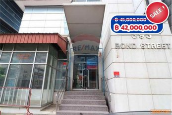 ขาย ตึกสำนักงาน Office building 8 ชั้น ถนนบอนด์สตรีทเมืองทอง ทำเลดี