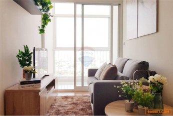 ขายคอนโดเดอะโคสต์ แบงค็อกบางนา 34.91 ตร.ม. ชั้น24 ตกแต่งสวยพร้อมเฟอร์นิเจอร์ ห้องสวยมาก