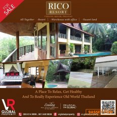 Rico Resort-Chiang Kham, Phayao Province Located near the town of Chiang Kham, in Phayao Province