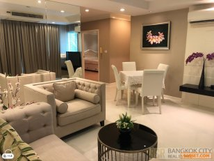 Sathorn Gardens Luxury Condo Pool View 2 Bedroom Unit for Rent/Sale