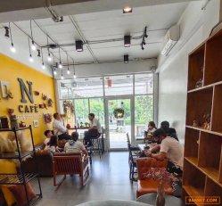 ร้านกาแฟ ใกล้สำนักงานเขตลาดกระบัง