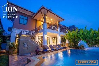 R017-028 ขายบ้านเดี่ยว Pool Villa .2ชั้น 76.6 ตรว. อ่าวนาง กระบี่ 091-0786344