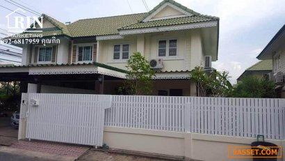 R059-053 ขายถูกบ้านแฝด 35 ตารางวา หมู่บ้านพฤกษา30/1 คุณกิ๊ก   092-6817959