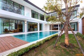 ขายบ้านหรูพลูวิลล่าสร้างใหม่พร้อมสระว่ายน้ำส่วนตัว, บ้านสวยสไตล์โมเดิร์นในเชียงใหม่