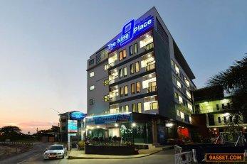 ขายโรงแรม อพาร์ตเมนต์ อาคาร 2 ตึก ใจกลาง เมืองหาดใหญ่ จ. สงขลา
