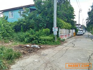 ขายด่วน ที่ดินเปล่า ถนนลำโพ ซอย 45 เนื้อที่ 36.40 ตรว. แปลงสวย หน้ากว้าง 8.45 เมตร X ลึก 17.20 เมตร ใกล้แหล่งชุมชน ทำเลดี เหมาะสร้างบ้านพักอาศัย