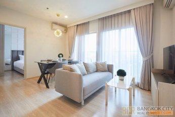 Noble Revolve Ratchada Luxury Condo High Floor 2 Bedroom Unit for Rent/Sale