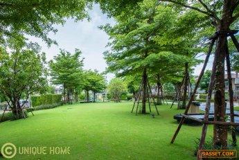 ขายบ้านเดี่ยว ห้องริม ตกแต่งสวยงาม โซนเกาะแก้ว ใกล้โรงเรียนนานาชาติ ราคาถูกสุดๆ