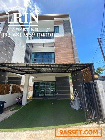 ขาย บ้าน/โฮมออฟฟิศ  3 ชั้น ลาดพร้าว64  หลังมุม ขนาด 26 ตรว. หน้ากว้าง 6.5  เมตร 092-6817959 คุณกิ๊ก