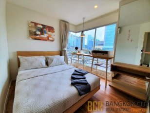 Lumpini Place Rama 4–Ratchadapisek High Privacy 1 Bedroom Corner Unit for Rent/Sale