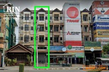 R060-002 ขายอาคารพาณิชย์ 5 ชั้น  บนถนนเลียบคลองสอง คลองสามวาทำเลธุรกิจ เหมาะเป็นโชว์รูมสินค้า