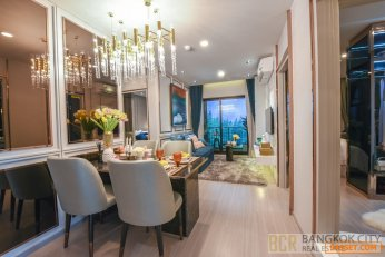 Aspire Asoke Ratchada Luxury Condo Special Priced 2 Bedroom Units for Sale