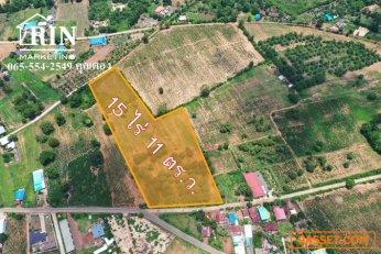ขายที่ดิน ครบุรี ติดถนน 2 ด้าน ห่างจากถนนราชสีมา-โชคชัย เพียง 1.5 กม. 065-554-2549 คุณตอง