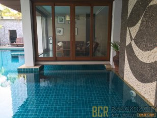 Exclusive Private Pool 5 Bedroom Luxury Villa in Asoke for Rent - HOT PRICE