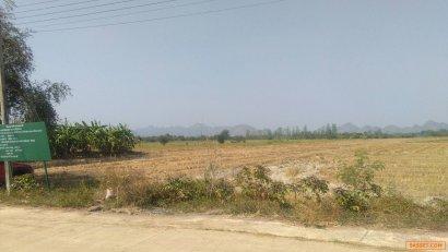 ขายที่ดิน 32 ไร่ เศษ เป็นพื้นนา ไม่ต้องถม อำเภอเมืองกาญจนบุรี