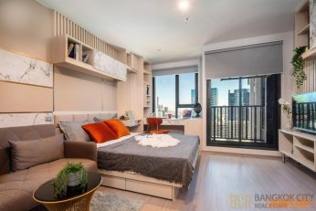 Life Ladprao Valley Ultra Luxury Condo High Floor 1 Bedroom Unit for Rent - Hot Price