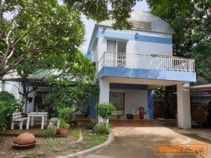 ขาย/เช่า บ้านเดี่ยว Noble Home โนเบิลโฮม บางพลี สงบ ร่มรื่น ด้วยต้นไม้ใหญ่ สระว่ายน้ำ 116 ตรว. 4 ห้องนอนใหญ่