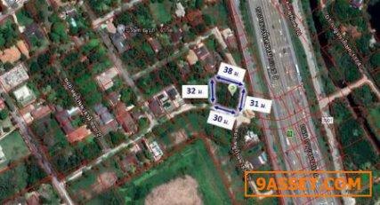 ขาย  ที่ดิน หมู่บ้านนวธานี หมู่บ้านนวธานี 0ไร่ 2งาน 74ตรว  แปลงมุม