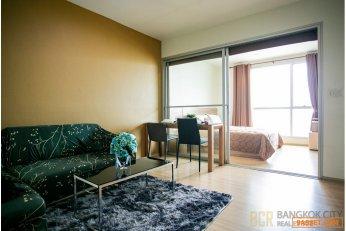 Rhythm Ratchada Huaikwang Condo High Floor Discounted 1 Bedroom Unit for Sale