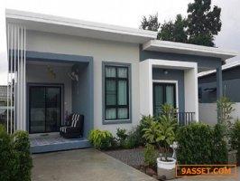 (ให้เช่า) บ้านแฝด พร้อมอยู่ ตกแต่งครบ ปราณบุรี รายวัน/รายเดือน Semi Detached House for Rent daily/monthly (Pranburi) V Pran 2