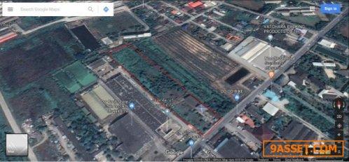 ขายที่ดินติดถนนซอยวัดเทียนดัด 8 ไร่ เข้าจากเพขรเกษม 300 เมตร