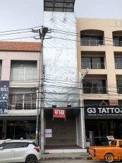 ขายตึก อาคารพาณิชย์ 5ชั้น ระหว่าง ซ.เฉลิมพระเกียรติ์ 31กับ33 ริม ถ.พัทยาสาย3 ใกล้โรงพยาบบาลเมืองพัทยา