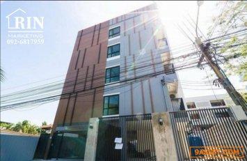 R059-120  ตึกอพาร์ทเม้นท์ใหม่  ตั้งอยู่ที่ ลาดพร้าว 71 ใกล้เลียบทางด่วนรามอินทรา ตึกใหม่เอี่ยม เหมาะสำหรับลงทุน