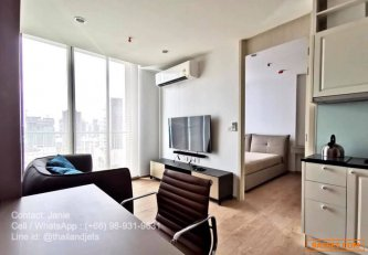 [For-Sell--Rent]-New-Condo-next-to-Terminal-21---Noble-Recole-Sukhumvit-19---1-Bedroom-High-Floor
