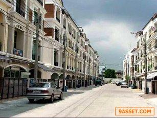 ให้เช่าทาวน์โฮม 3 ชั้น บ้านกลางเมือง รัชดา-ลาดพร้าว 3 นอน 4 น้ำ  ใกล้  MRT  สี่แยกรัชดา-ลาดพร้าว   เพียง 300 เมตร  เนื้อที่ 30   ตรว. แอร์ 4 ตัว จอดรถในบ้านได้ 2 คัน หน้าบ้าน 1คัน