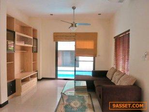 ให้เช่า บ้านเดี่ยว พร้อมสระส่วนตัว ในเอกมัย เพื่อพักอาศัยเท่านั้น A Single House with private pool in Ekamai For Residence