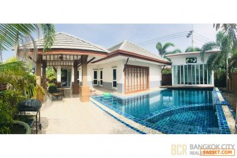 Beautiful 2+1 Bedroom Pool Villa in Baan Dusit Park 3 Pattaya for Sale